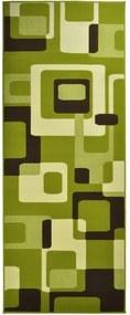 Covor Hanse Home Hamla Retro, 80 x 150 cm, verde