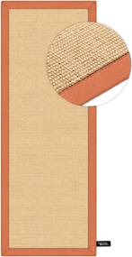 Traversa Sisal Orange 68x240 cm