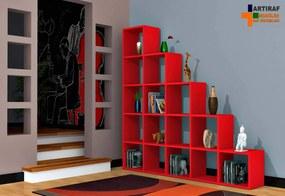 Biblioteca - Perla - Rosu