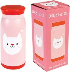 Sticlă din inox Rex London Cookie the Cat, 350 ml
