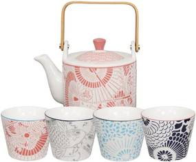 Set 5 piese pentru ceai Tokyo Design Studio Baobab