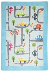 Covor copii Baby Cars, 140 x 190 cm
