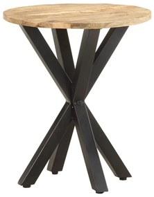 320656 vidaXL Masă laterală, 48x48x56 cm, lemn masiv de mango