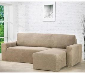 Huse care se întind foarte bine GLAMOUR alunei canapea cu otoman dreapta (l. 210 - 270 cm)