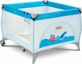 Caretero - Tarc de joaca Holiday, 100x100 cm, Albastru
