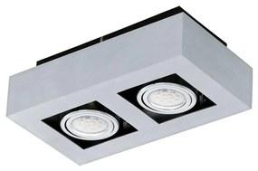 Eglo 91353 - LED Plafoniera LOKE 1 2xGU10-LED/5W/230V