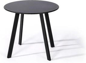 Masă de grădină Le Bonom Full Steel, ø 50 cm, negru