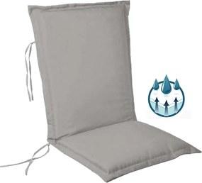 Perna impermeabila sezut/spatar pentru balansoar, scaun de bucatarie sau gradina, 48x65 cm, culoare gri