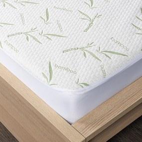 Protecție saltea 4Home Bamboo cu bordură, 90 x 200 cm + 30 cm, 90 x 200 cm