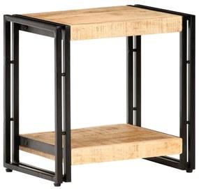 320682 vidaXL Masă laterală, 40 x 30 x 40 cm, lemn de mango nefinisat