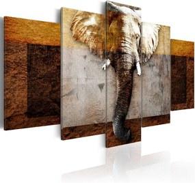 Bimago Tablou - Strength of Africa 100x50 cm