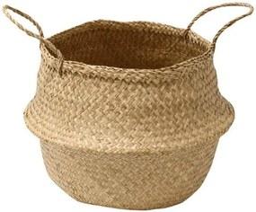 Coș depozitare din iarbă de mare Compactor Seagrass Basket, ⌀ 35 cm