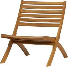 Scaun lounge din lemn natur Lois Wooden Lounge Chair Wood Natural | WOOOD