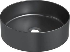 Chiuveta Fino Cilin, ceramica, neagra