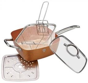 Tigaie multifunctionala patrata (Fryer) Le Chef Line Blaumann BL 3367