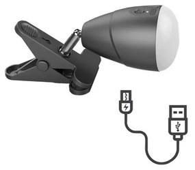 Lampă LED cu clemă LED/5W/5V/4000K