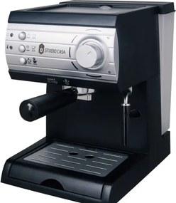 Espressor cu pompa Aroma SC422 Silver Studio Casa, 15 bari, 1.5l, 1050w, Negru/Silver
