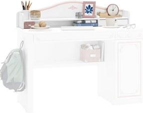 Accesoriu pentru birou din PAL  Selena Pink 120x33x18 cm