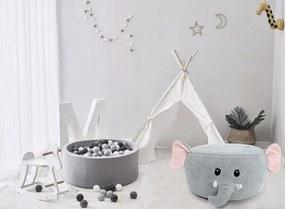 Tamburet gomfabil pentru copii – model elefant