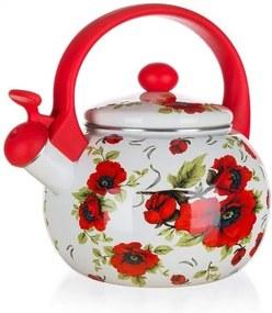Ceainic smălțuit Banquet Poppy, 2,2 l