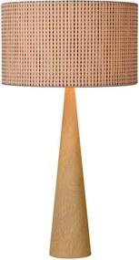 Lucide 30594/81/72 - Lampa de masa CONOS 1xE27/60W/230V bej