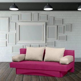 Canapea extensibila, cu lada de depozitare, Almira