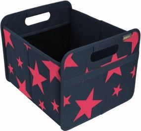 Cutie pliabila pentru depozitare Marine Blue Red Stars