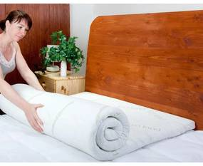 Saltea de protecţie cu spumă cu memorie BAMBOO Comfort 6 cm