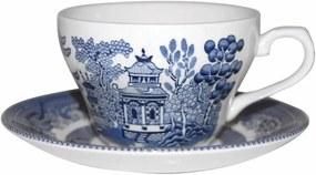 Cană din ceramică Churchill China Blue Willow, 200 ml