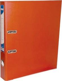 Biblioraft plastifiat Noki 7.5 cm portocaliu