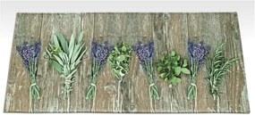 Covor de bucătărie foarte rezistent Webtapetti Lavender, 59,5 x 240 cm