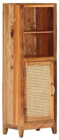 288099 vidaXL Dulap înalt, 40 x 30 x 122 cm, lemn masiv reciclat