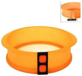 Formă pentru tort din silicon şi fund din sticlă