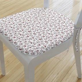 Goldea pernă pentru scaun rotundă din bumbac 39x37cm - model 850 39 x 37 cm