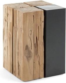 Măsuță auxiliară din lemn de tec La Forma Ognak