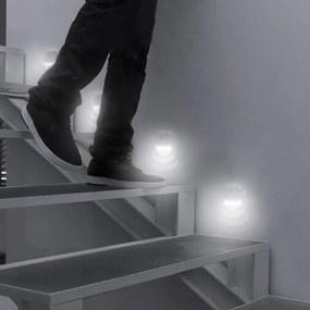 Set 2 LED-uri cu senzori de mișcare InnovaGoods