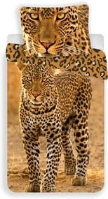 Lenjerie bumbac Leopard 2017, 140 x 200 cm, 70 x 90 cm