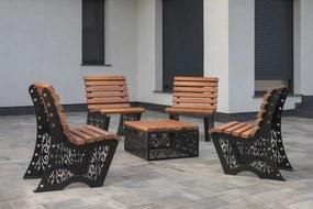 Arkasteel Baroko Set 4 scaune + Masa