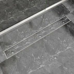 Scurgere duș liniară din oțel inoxidabil 1030 x 140 mm