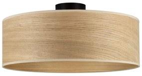 Plafonieră cu abajur din lemn de stejar Sotto Luce TSURI XL