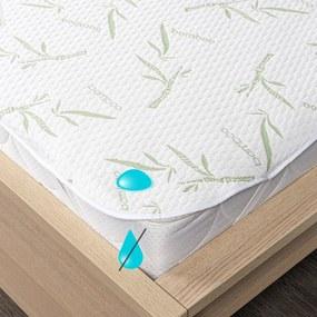 Protecție saltea 4Home Bamboo impermeabilă cu elastic, 200 x 200 cm, 200 x 200 cm