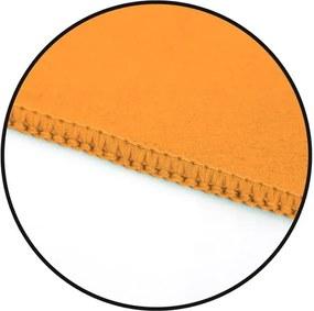 Prosop cu uscare rapidă DecoKing EKEA, 40 x 80 cm, portocaliu