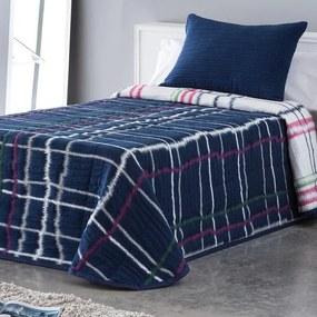 Cuvertură pentru pat MARA albastru pat simplu