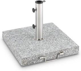 Blumfeldt Schirmherr 30SQ, granit, suport pentru umbrelă, piedestal, granit lustruit