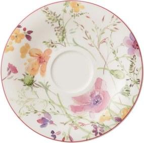 Farfurioară din porțelan Villeroy & Boch Mariefleur Tea, ⌀ 16 cm, motiv floral, multicolor