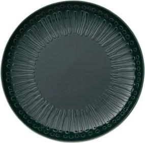 Farfurie intinsa din portelan, It's my Match Blossom Alb / Verde, 24 cm, Villeroy & Boch