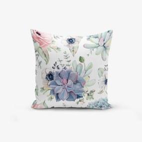 Față de pernă din amestec de bumbac Minimalist Cushion Covers Yagli, 45 x 45 cm