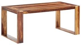 286352 vidaXL Masă de bucătărie, 180 x 90 x 76 cm, lemn masiv de sheesham