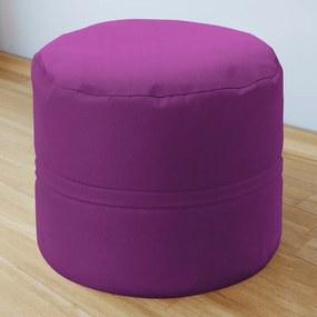 Goldea taburet din bumbac 50x40 cm - violet 50 x 40 cm