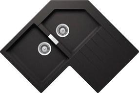 Chiuveta Granit Schock Primus C-200 Nero Cristalite 840 x 840 mm